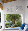 Sea Turtle Stainless Steel Wall Art | R Mended Metals | 10013 -4