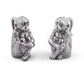 Monkey Salt and Pepper Shakers   Arthur Court Designs   116S13