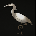 Egret Stainless Steel Wall Art | R Mended Metals | 101604