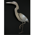 Egret Stainless Steel Wall Art | R Mended Metals | 101604 -2