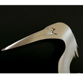 Egret Stainless Steel Wall Art | R Mended Metals | 101604 -3