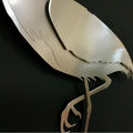 Egret Stainless Steel Wall Art | R Mended Metals | 101604 -4