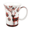 Holiday Reindeer Bone China Mug Set of 2 | McIntosh Trading Reindeer Mug | MTMMC020179 -4