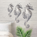 Sea Horse Stainless Steel Wall Art | R Mended Metals | 100203 -2