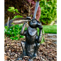 Pondering Bunny Rabbit Bronze Sculpture | Metropolitan Galleries | SRB707232