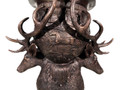 Bronze Deer Antler Planter Urn | Metropolitan Galleries | SRB10105