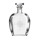 Compass Rose Engraved Whiskey Decanter | Rolf Glass | 223803