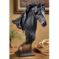 "Fresian Horse Sculpture ""Equus Onyx "" | Mill Creek Studios | 6567943781"