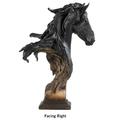 "Fresian Horse Sculpture ""Equus Onyx "" | Mill Creek Studios | 6567943781 -2"