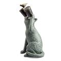 Observant Cat Garden Sculpture | 34906 | SPI Home