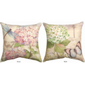 Dragonfly and Butterfly Indoor Outdoor Throw Pillow | SLFLDG -3