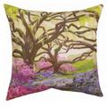 Southern Oak Indoor Outdoor Throw Pillow | SLSRSO