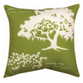 Southern Oak Indoor Outdoor Throw Pillow | SLSRSO -2