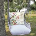 Hummingbirds Hammock Chair Swing Latte | Magnolia Casual | LTSW901-SP