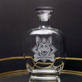 German Shepherd Glass Decanter | Rolf Glass | 363806