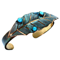 Magnolia Leaf Cuff Bracelet | Elaine Coyne Jewelry | ECGLP36BC -2