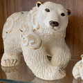 Polar Bear Ceramic Figurine |De Rosa | Rinconada | 465 -2