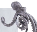 Octopus Glass & Pewter Cocktail Pitcher | Vagabond House | O457O