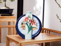 "Lily Porcelain Vase "" Wishes Come True"" 