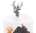 Elk Dessert Stand with Glass Dome   Vagabond House   VHCB445TEK