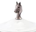 Horse Head Stoneware Covered Bowl | Vagabond House | VHCH326HH