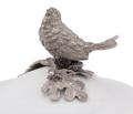 Song Bird Stoneware Covered Bowl | Vagabond House | VHCK326SB