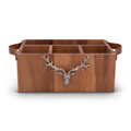 Elk Wooden Flatware Caddy | Vagabond House | VHCB464EK
