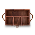 Elk Wooden Flatware Caddy | Vagabond House | VHCB464EK -3