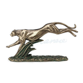 Running Cheetah Sculpture   Bronze Finish   Unicorn Studios    WU77415A4