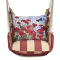 Red Poppies Hammock Chair Swing | Magnolia Casual | AMTC901-SP