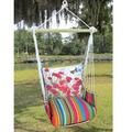 "Red Poppies Hammock Chair Swing ""Le Jardin"" | Magnolia Casual | LJTC901-SP"