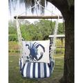 "Crab Hammock Chair Swing ""Marina Stripe""   Magnolia Casual   MARR915-SP"
