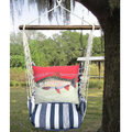 "Trout Hammock Swing Chair ""Marina Stripe"" 