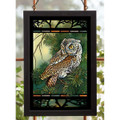 Screech Owl Stained Glass Art | Wild Wings | 5386498044