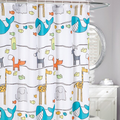 Animal Frolic Fabric Shower Curtain | Moda at Home