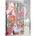 Birds and Flowers Fabric Shower Curtain | Art Journal | Moda at Home