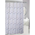 Butterfly and Bird Floral Fabric Shower Curtain | Home Shower Curtain | Moda at Home