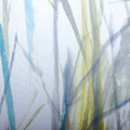 Windswept Botanical Fabric Shower Curtain | Moda at Home