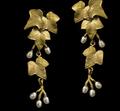 Ivy Statement Post Earrings | Nature Jewelry | Michael Michaud | 3551BZ