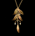 "Leaf Tapestry 20"" Pendant Necklace 