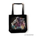 "Lioness ""Painted Lion"" 18"" Tote Bag 