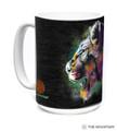 Painted Lion 15oz Ceramic Mug | The Mountain | 57632309011 | Lion Mug