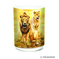 Lion Pair 15oz Ceramic Mug | The Mountain | 57631709011 | Lion Mug