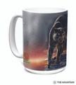 Black Panther Portrait 15oz Ceramic Mug | The Mountain | 57627709011 | Panther Mug