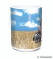 Zebra Portrait 15oz Ceramic Mug | The Mountain | 57596509011 | Zebra Mug