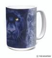 Black Panther Gaze 15oz Ceramic Mug | The Mountain | 57596309011 | Black Panther Mug