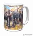 Asian Elephant Collage 15oz Ceramic Mug | The Mountain | 57597909011 | Elephant Mug