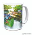 "Tree Frogs ""Frog Capades"" 15oz Ceramic Mug | The Mountain | 57593109011 | Tree Frog Mug"