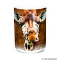Giraffe Face 15oz Ceramic Mug | The Mountain | 57361909011 | Giraffe Mug