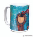 Octopus Climb 15oz Ceramic Mug | The Mountain | 57595309011 | Octopus Mug